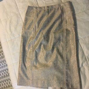 Sparkly J Crew Pencil Skirt